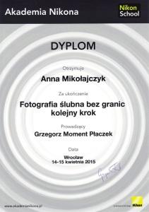 Dyplom Akademia Nikona 2 male