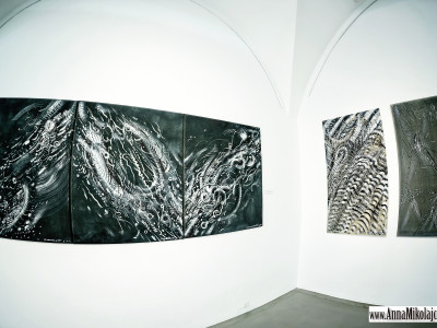Galeria Miejska we Wrocławiu Vít Ondráček/Marcin Zawicki/malarstwo fot. Anna Mikołajczyk